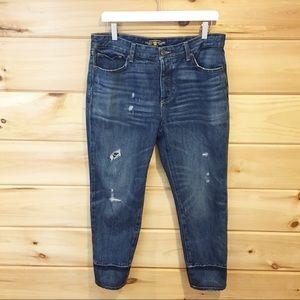 Lucky brand   Sienna slim boyfriend jeans, size 10